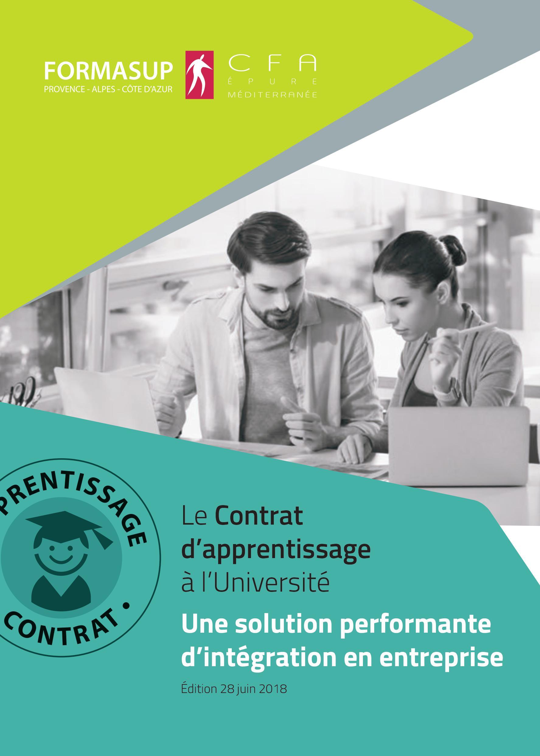 Ouverture de nouvelles formations en apprentissage à la rentrée 2018-2019 au CFA Epure Méditerranée