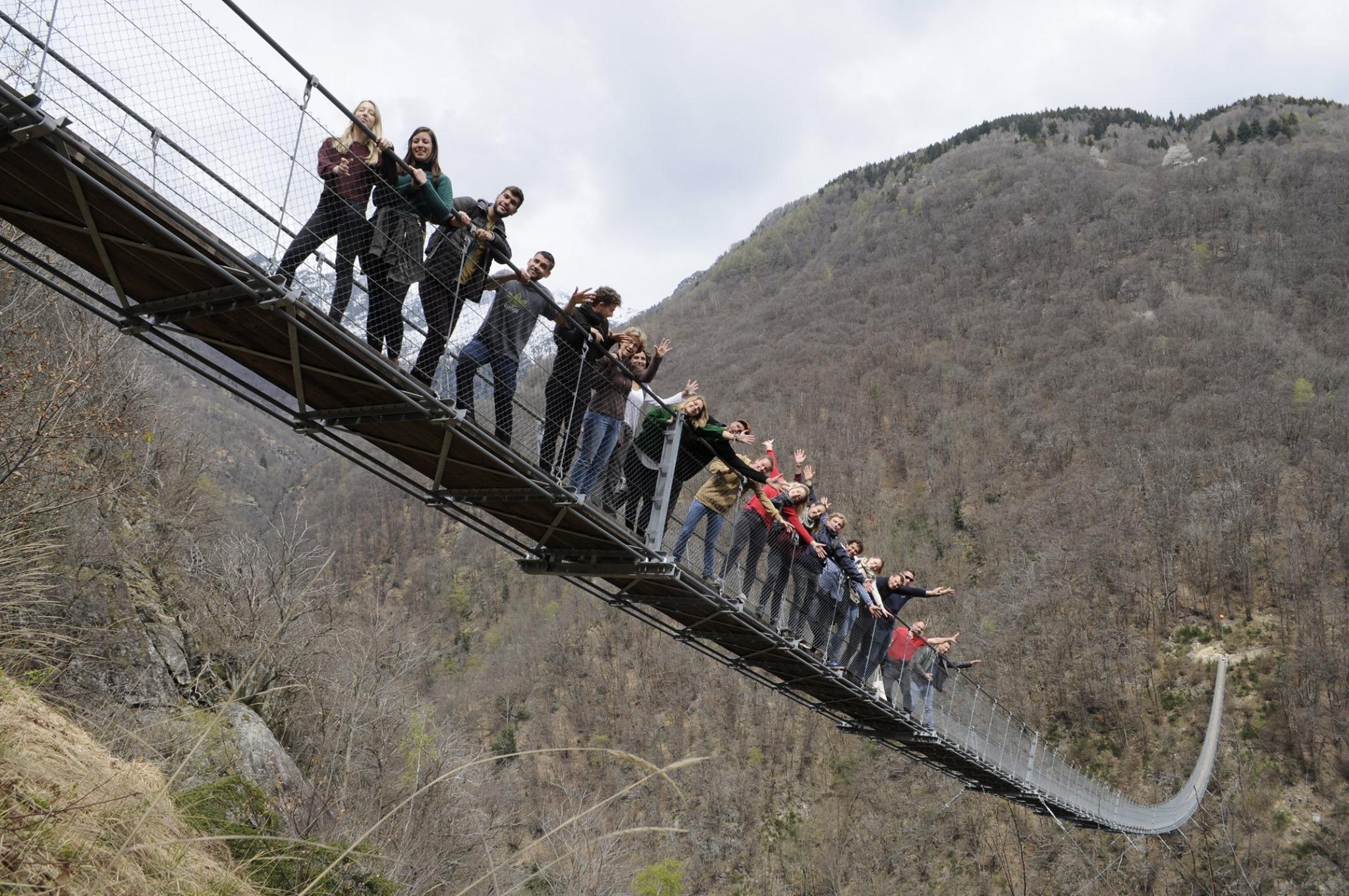 Avril 2019 : les apprentis de LP Aménagement du Paysage sur les rives des Lacs Majeur et Lugano en Suisse et en Italie